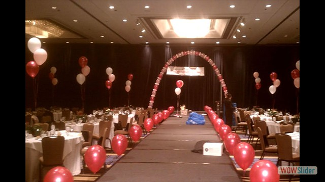 Table, Floor, and Arch Balloon Decorations