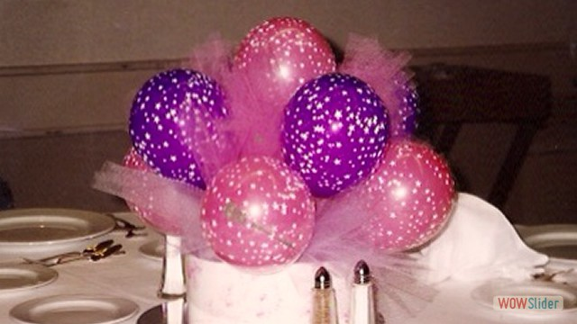 Table Balloon Centerpieces