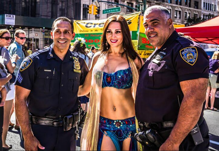 Belly Dancer in NYC