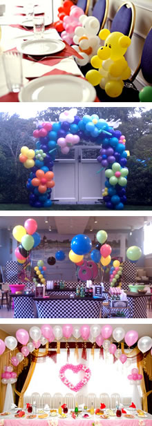 Balloon Decorating Service