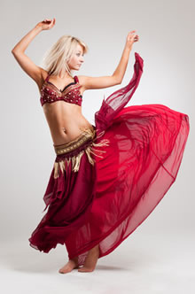 Authentic Belly Dancer