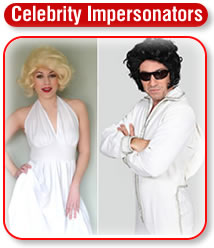 Celebrity Impersonators Party Entertainment