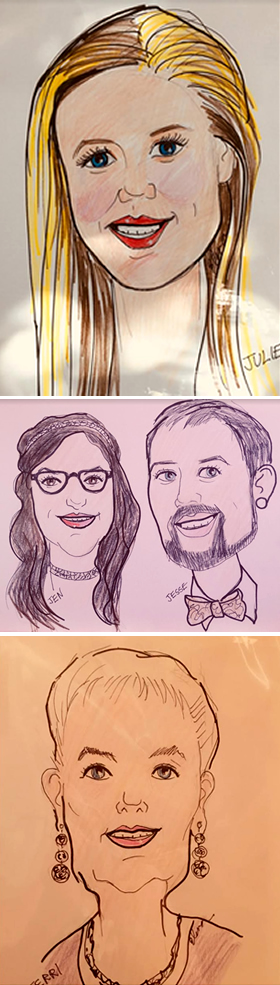 Caricature Artists for your Party