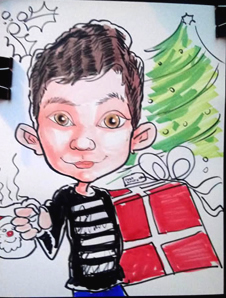Christmas Caricatures
