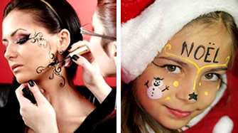 Holiday Party Facepainting
