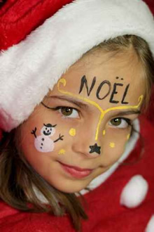 Christmas Face Painters