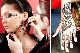 Hire a Henna Painter for your party