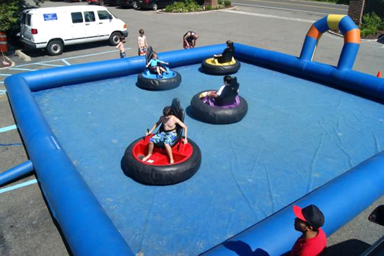 Portable Bumper Cars