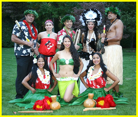 Hawaiin Themed Party Entertainers