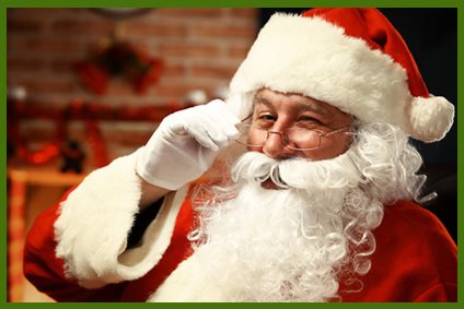 Book a Santa in CT NY NJ