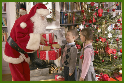 Hire a Santa in CT NY NJ