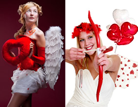 Valentines Cupids and Angels
