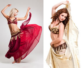 Valentines Day Belly Dancers
